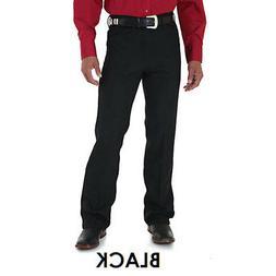 00082BK Wrangler Men's Wrancher Polyester Stretch Twill Dres