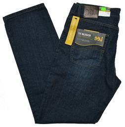Lee #10356 NEW Men's Regular Fit Straight Leg Comfort Stretc