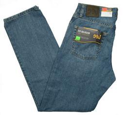 Lee #10388 NEW Men's Regular Fit Straight Leg 100% Cotton Da