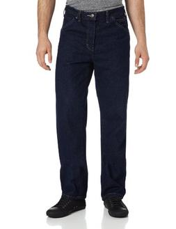 Dickies 13293RNB 31 30 Mens Relaxed Fit 5 Pocket Jean Rinsed