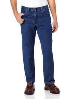 Dickies 13293SNB 48 30 Mens Relaxed Fit 5 Pocket Jean Stonew