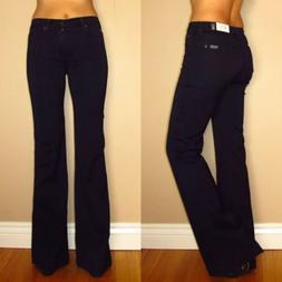 $178 7 For All Mankind Ginger High Waist Wide Leg Flare Wome