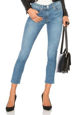 $198 NEW Rag & Bone Ankle Skinny with Frayed Hem in Lucky Ro
