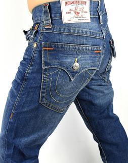 True Religion $199 Men's Hand Picked Straight Jeans - 101700