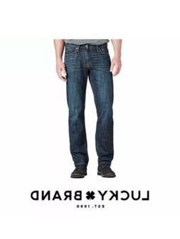 Lucky Brand Men's 221 Original Straight Leg Jeans Kings, Cro