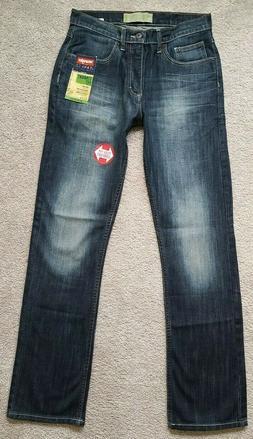 30 x 32 Wrangler Low Waist Straight Leg Flex Denim Men's Jea