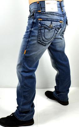 True Religion $349 Men's Ricky Relaxed Straight Super T Jean