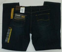 34x32 LEE Straight Leg Fit Denim Jeans Comfort Stretch Regul