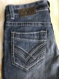 Buckle Black 36 X 36 Straight Thick Stitch Men's Jeans