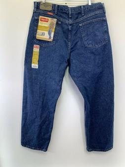 Wrangler 38x29 Denim Jeans  Relaxed Fit U Shape Seat Straigh