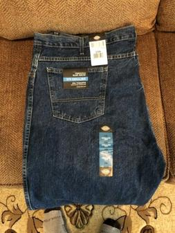 Dickies 48X32 Relaxed Fit Straight Leg Five Pocket Jeans