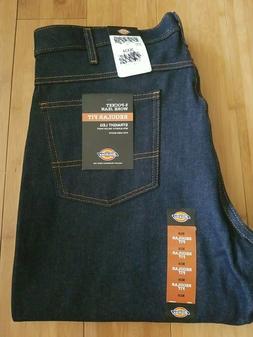 Dickies 5 Pocket Work Jeans Men's 36x34 Regular Fit Straight