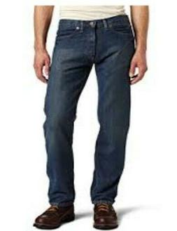 DICKIES $50 Blue Denim SLIM FIT STRAIGHT LEG JEANS Men's Sz