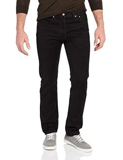 Levi's Men's 501 Original Fit Jean, Black, 31x30