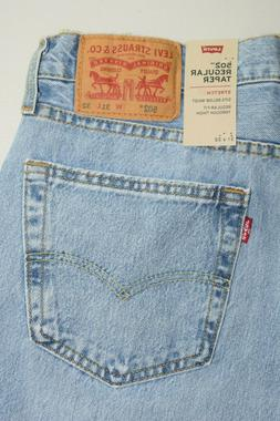 502 Men's Regular Taper Stretch Jeans Style: 295070149