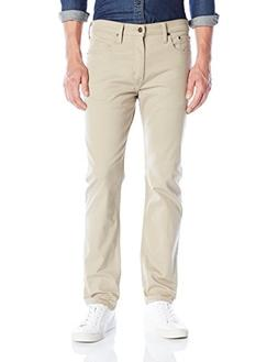 Levi's Men's 502 Regular Taper Jean, True Chino/Bull Denim,
