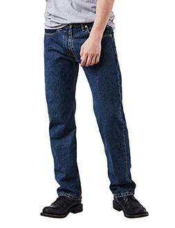 Levi's Men's 505 Regular Fit Jean, Dark Stonewash, 33x30