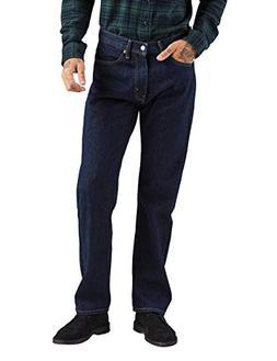 Levi's Men's 505 Regular Fit-Jeans, Rinse, 33W x 36L