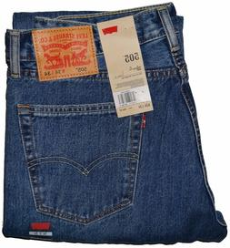 Levis 505 Regular Fit Jeans Medium Blue Stonewash #4891 """"""