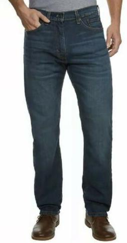Levi 505 Regular Men's Jeans Straight Leg Medium Wash 34 X 3