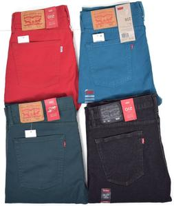 Levis 510 Men's Slim Fit Skinny Stretch Denim Jeans Choose S