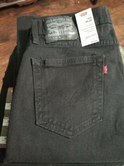 Levi's Men's 511 Slim Fit Jean, Black Stretch, 40x32