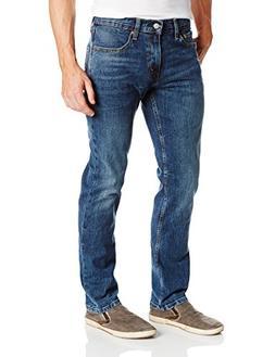 Levi's Men's 511 Slim Fit Jean, Black Stone - Stretch, 32W x