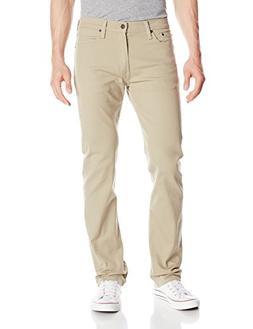 Levi's Men's 513 Slim Straight Fit Jean, True Chino - Bull D