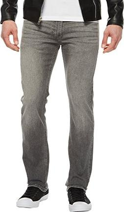 Levi's Men's 513 Slim Straight Jean, Tin Man - Stretch 34W x