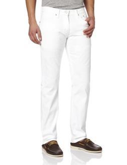 Levi's Men's 514 Straight fit   Jean,  White Bull Denim, 33x