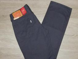LEVIS 514 Straight Jeans Padox Canvas Regular Fit Charcoal G