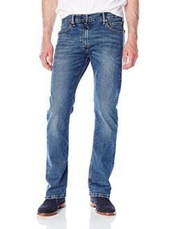 Levi's Men's 527 Slim Bootcut Jean, Black Stone, 36W x 34L