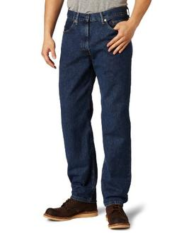 Levi's Men's 550 Relaxed Jean, Dark Stonewash, 38x36