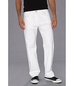 Levi's Men's 569 Loose Straight Leg Twill Pant, White, 34x30