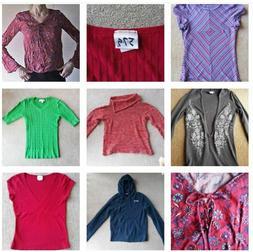 7 piece Juniors XS Small Clothing Lot Forever 21 Asics Arizo
