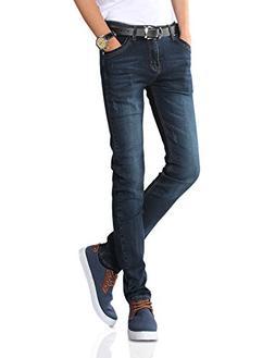 Demon hunter 808 Series Men's Skinny Slim Jeans DH8058