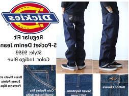 DICKIES, 9393, 5 Pocket Reg Fit Heavyweight Denim Jeans, 100