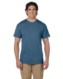 Hanes Mens ComfortBlend EcoSmart 50/50 Cotton/Poly T-Shirt,