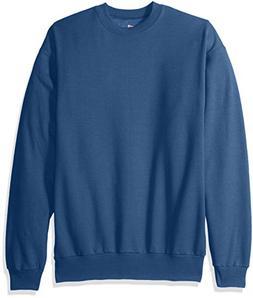 Hanes Men's EcoSmart Fleece Sweatshirt, Denim Blue, 3XL