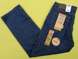 Wrangler Advanced Comfort Mens Relaxed Fit Stretch Denim Jea