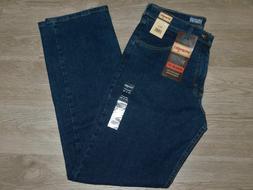 WRANGLER Advanced Comfort Stretch Jeans Regular Straight Dar