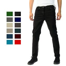 Alta Designer Fashion Mens Slim Fit Skinny Denim Jeans - Mul