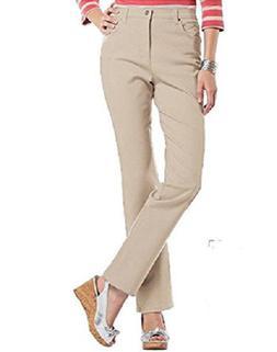 Gloria Vanderbilt Amanda Classic Fit Tapered Leg Jean, CHECK