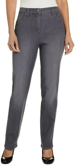 Amanda Stretch-Fit Jeans by Gloria Vanderbilt Ashfall 16