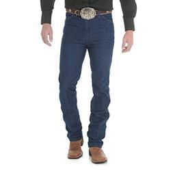 Wrangler Men's Cowboy Cut Slim Fit Jean, Navy, 35x36