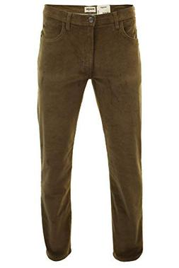 Wrangler Men's Arizona Stretch Corduroy Jeans Teak