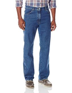 Wrangler Men's Authentics Classic Comfort Waist Jean, Dark S