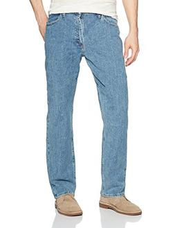 Wrangler Authentics Men's Classic Relaxed Fit Jean with Flex