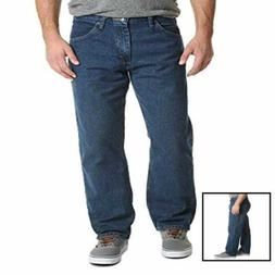 Wrangler Authentics Men's Classic Relaxed Fit Jean, Dark Sto