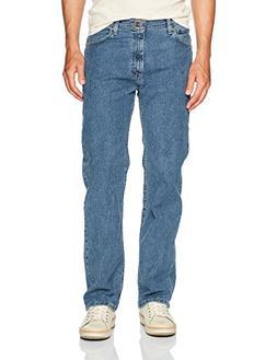 Wrangler Men's Regular Fit Comfort Flex Waist Jean, Light